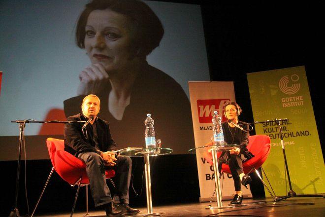 FOTO: Herta Müllerová v Praze.