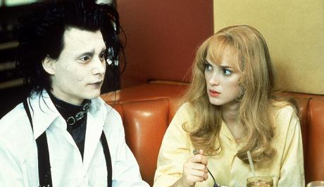 FOTO: Johnny Depp, Winona Ryder - Střihoruký Edward