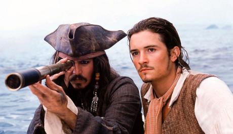 FOTO: Johnny Depp a Orlando Bloom v Pirátech z Karibiku