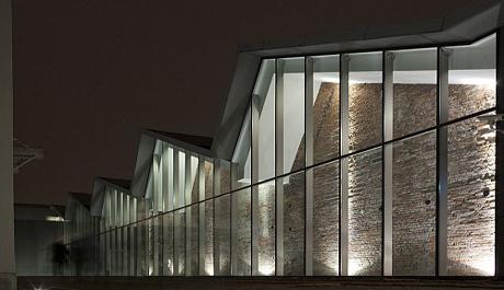 FOTO: Exteriér muzea moderního umění v Krakově