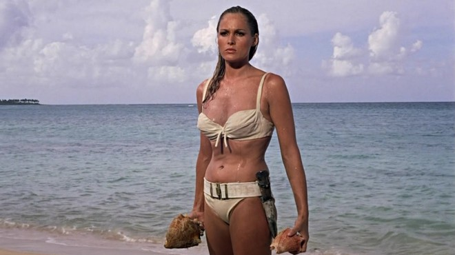 FOTO: Ursula Andress ve filmu Dr. No