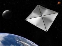 Solární plachetnice Zdroj: NASA