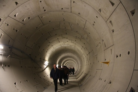 FOTO: Rozšiřování linky A pražského metra