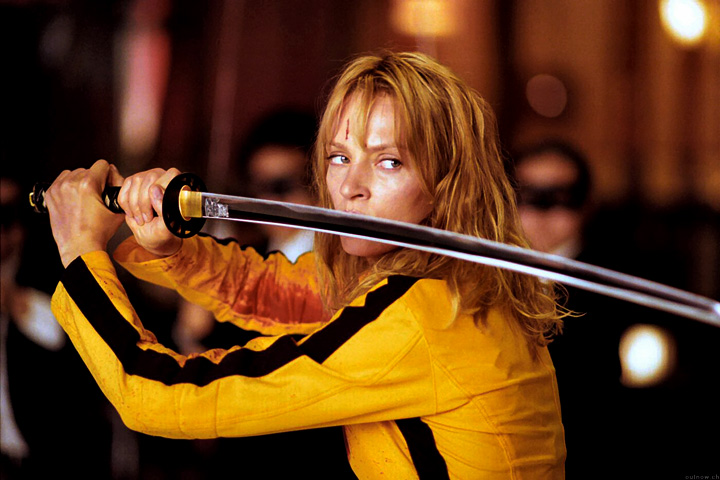 FOTO: Uma Thurman ve filmu Kill Bill