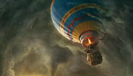 FOTO: Vzhůru k novým dobrodružstvím do Země Oz. Zdroj: Falcon