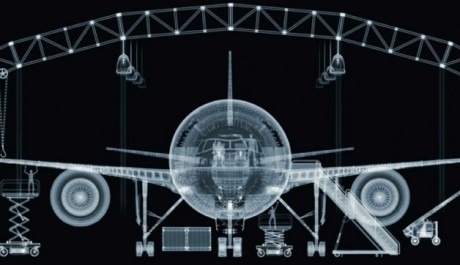 FOTO: Nick Veasey Boing 777