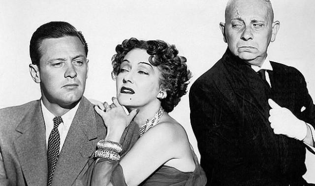 William Holden, Gloria Swanson, Erich von Stroheim - dnes už zná tyto jména jenom opravdový filmový fajnšmejkr.,Zdroj: Paramount Pictures