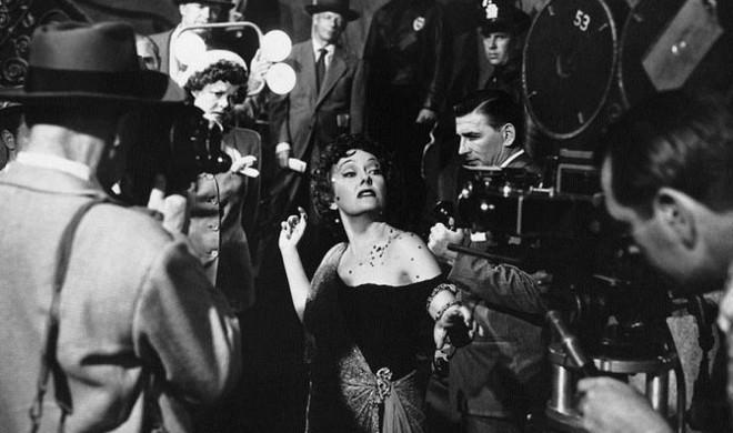FOTO:Gloria Swanson jako Norma Desmond ve snímku Sunset Blvd.