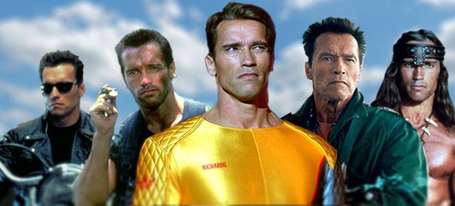Nejslavnější role Arnolda Schwarzeneggera.