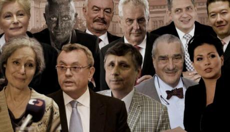 FOTO: Kandidáti na prezidenta České republiky