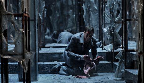 Jan Hušek v roli Oidipa v Jihočeském divadle