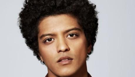 Bruno Mars Zdroj: pořadatel koncertu Foto: Kai Z. Feng
