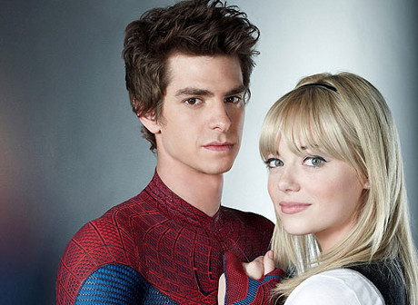 Emma Stone a Andrew Garfield - Columbia Pictures - Amazing Spiderman