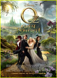 FOTO: Oz The Great and Powerful Poster