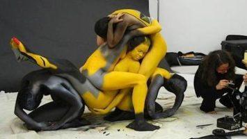 FOTO: bodypainting_motorky_nahled