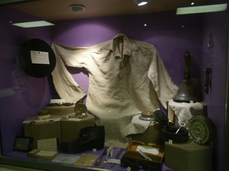 OBR: Svěrací kazajka z muzea ve Wakefieldu