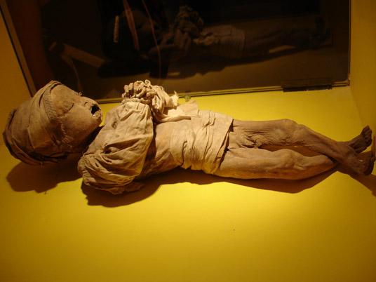 OBR: Muzeum mumií Guanajuato.