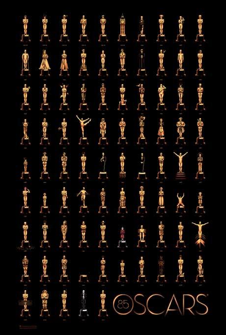 FOTO: Olly Moss plakát k Oscarům