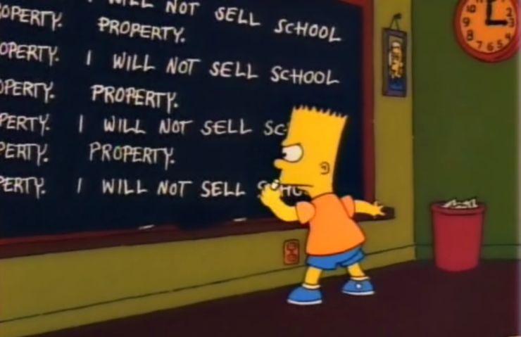 FOTO: Postava Barta ze Simpsonových