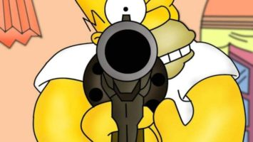 FOTO: Postava Homera ze Simpsonových