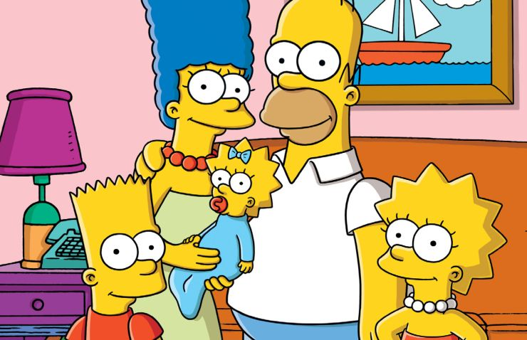 FOTO: Rodinka Simpsonových