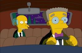FOTO: Smithers a pan Burns ze Simpsonových