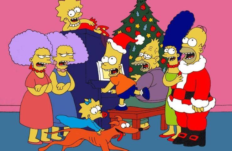 FOTO: Simpsonovi slaví Vánoce