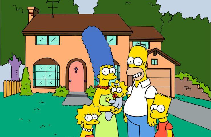 FOTO: Rodina Simpsonových