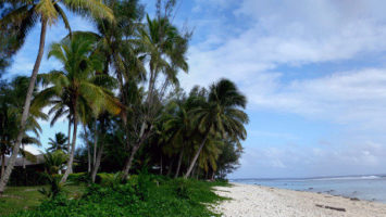 FOTO: Pobřeží ostrova v Tichém oceánu