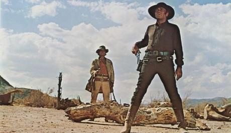 FOTO: Charles Bronson a Henry Fonda ve filmu Tenkrát na Západě