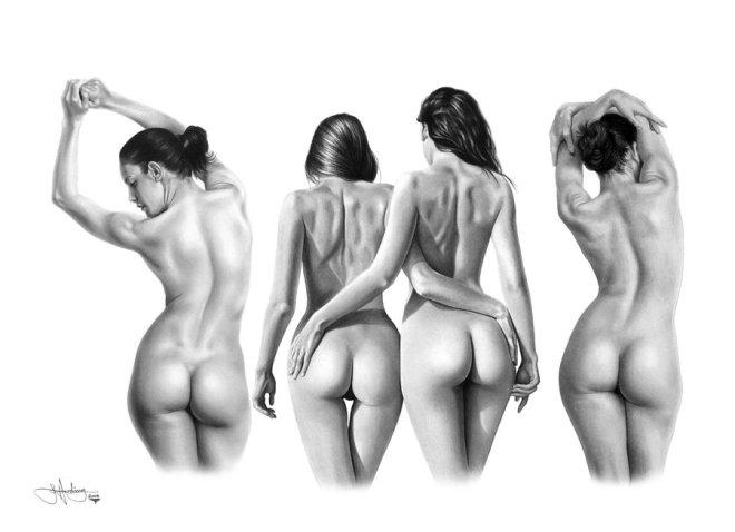 Modely nahých postav