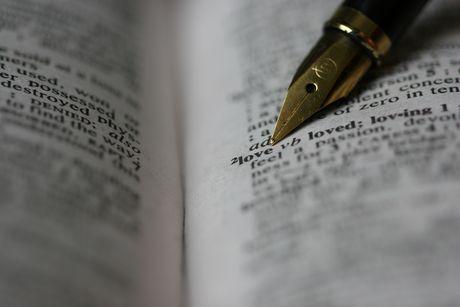FOTO: Anglický slovník