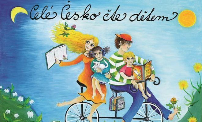 FOTO: Celonárodní kampaň Celé Česko čte dětem. Zdroj: pořadatel