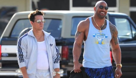 FOTO: Mark Wahlberg Dwayne Johnson Pain and Gain 2
