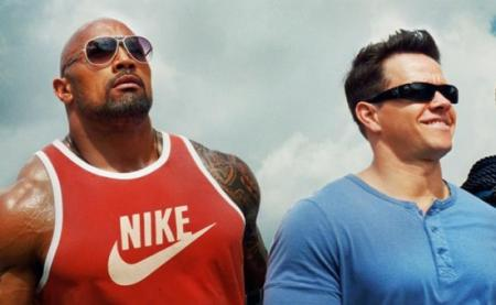 FOTO: Mark Wahlberg Dwayne Johnson Pain and Gain