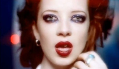 Shirley Manson z Garbage. Reprofoto: youtube.com