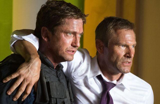 FOTO: Gerard Butler a Aaron Eckhart ve filmu Pád Bílého domu