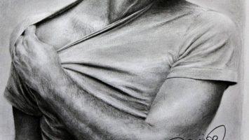jak nakreslit oblečenou postavu