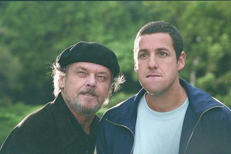 FOTO: Kurz sebeovládání - Adam Sandler a Jack Nicholson