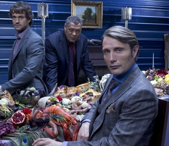 FOTO: Laurence Fishburne, Hugh Dancy a Mads Mikkelsen