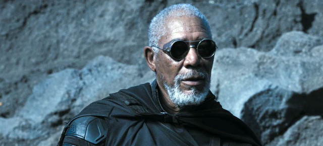 FOTO: Morgan Freeman ve filmu Oblivion