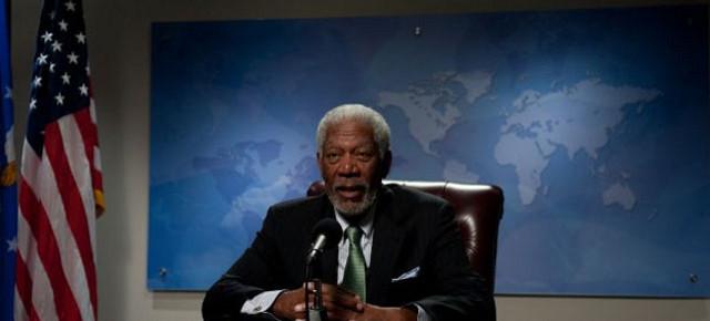 FOTO: Morgan Freeman ve filmu Pád Bílého domu