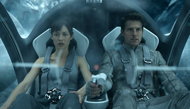 FOTO: Nevědomí - Tom Cruise a Olga Kurylenko