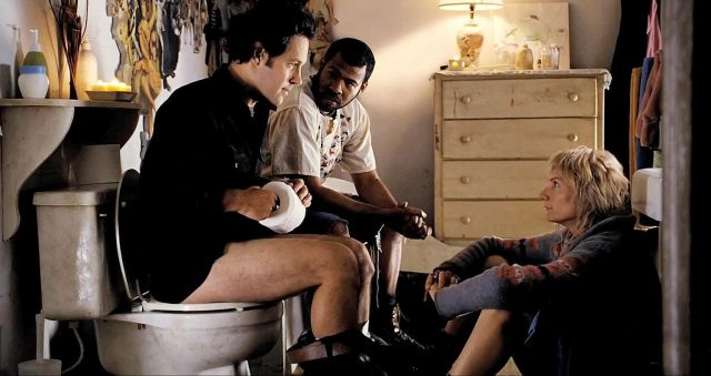 FOTO: Záchodová scéna z filmu Tohle je ráj