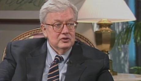 Roger Ebert zemřel ve věku 70 let. Zdroj: reprofoto: youtube.com