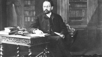 FOTO: Émile Zola ve své pracovně. Zdroj: Wikimedia