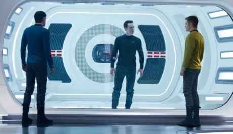 FOTO: Benedict Cumberbatch Star Trek Into Darkness