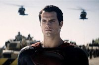 FOTO: Henry Cavill Man Of Steel 2
