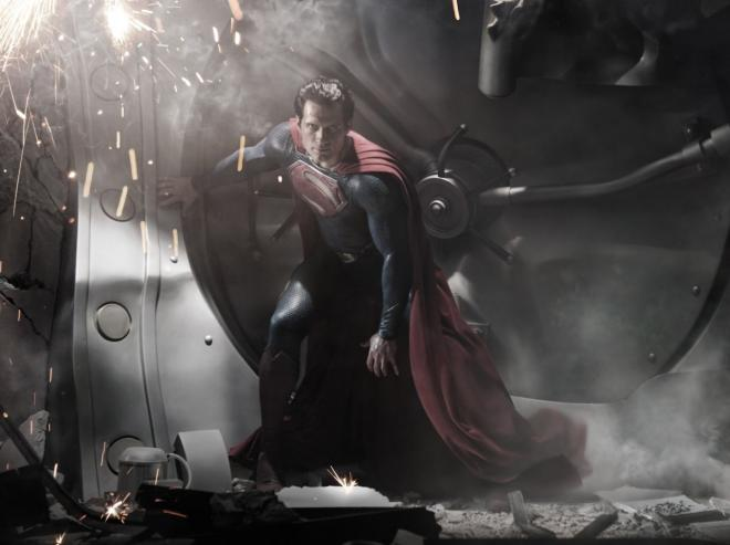 FOTO: Henry Cavill Man Of Steel