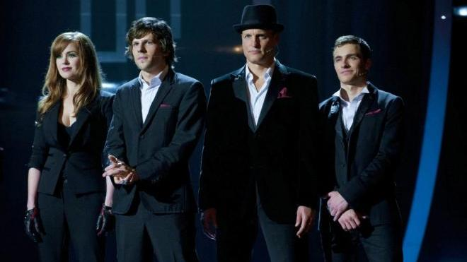 FOTO:Isla Fisher Jesse Eisenberg Woody Harrelson Dave Franco Now You See Me